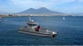 Workglop, un des navires anti-pollution d'Ecoceane