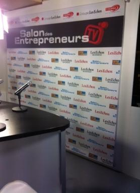 Notre studio lors du Salon des Entrepreneurs