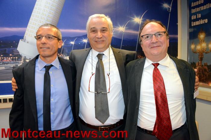 G.Gallo - F. Mirabelli - JC Barré (phot Montceau-News)