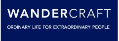Logo blanc fond bleu