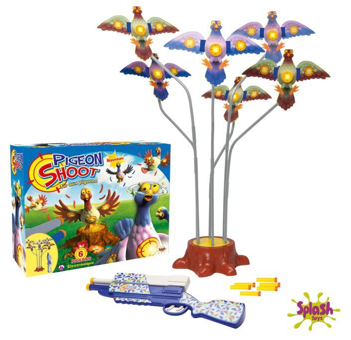 tir pigeon splash toys